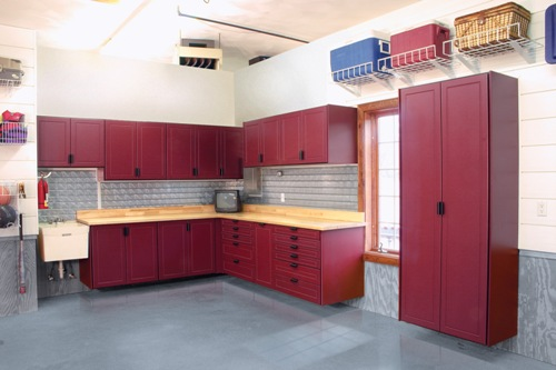 Ordinaire Garage Shelves, Garage Cabinets And Storage, Epoxy Flooring And More
