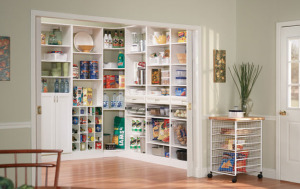 Classica White Pantry by Organized Living