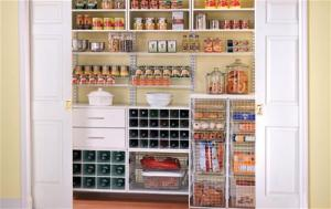 freedomRail Reach-In Pantry by Organized Living