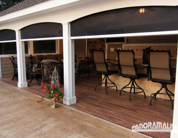 Retractable Screens Shades And Awnings Working Space