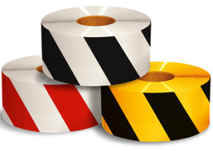 Mighty Diagonal Safety Tape